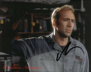 Nicolas Cage Signed 8x10 Photo Proof Autographed Gone In 60 Seconds