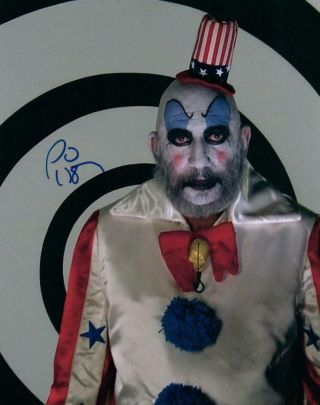 Sid Haig Autographed 8x10 Photo Signed Picture Pic And