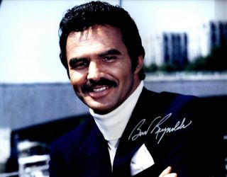 Burt Reynolds Autographed Signed 11x14 Photo Picture Pic,