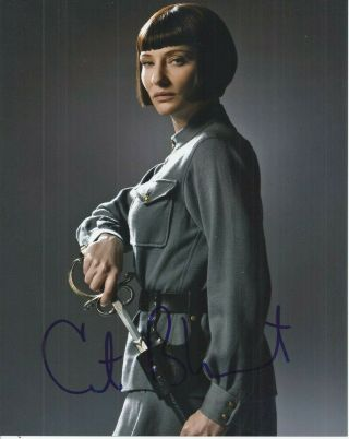 Cate Blanchett Signed Photo Autographed 8x10 Elizabeth The Aviator Streetcar
