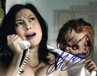 Jennifer Tilly Signed Bride Of Chucky 8x10 Photo In Person Autograph