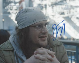 Jason Segal Hand Signed Authentic