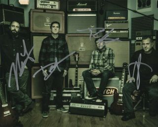 Clutch Band Real Hand Signed Photo 2 Autographed By All 4