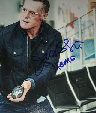 Jason Beghe Chicago Pd Actor Signed 8x10 Autographed Photo E