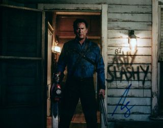 Bruce Campbell 8x10 Autographed Photo Picture Signed Pic With The Evil Dead