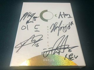 Oneus Album Autograph All Member Signed Promo Album Kpop 01