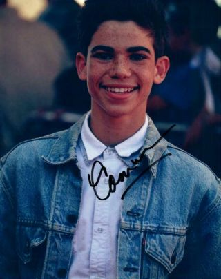 Cameron Boyce Signed 8x10 Picture Autographed Photo,