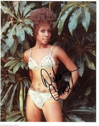 Diahann Carroll In Bikini Signed Autograph 8x10 Jsa Authenticated N38778