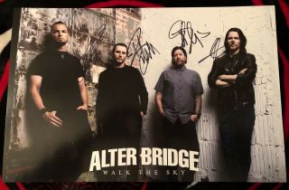 Alter Bridge Signed