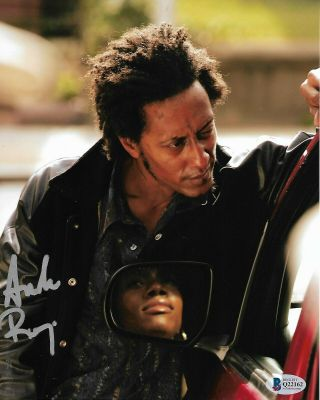 Andre Royo Autographed Signed The Wire Bubbles Bas 8x10 Photo
