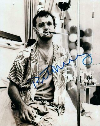 Bill Murray Autographed 8x10 Photo Signed Picture,