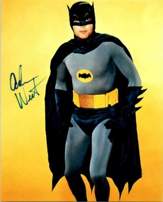 Adam West Signed 8x10 Picture Photo Autographed With