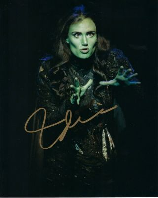 Idina Menzel Wicked Broadway Signed Autograph Photo Rare Signature Hot Sexy
