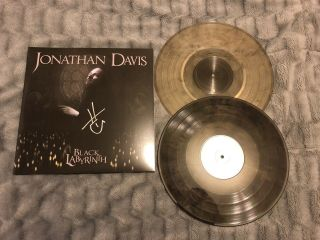 Jonathan Davis Black Labyrinth Autographed Colored Vinyl (signed 2lp) [korn]