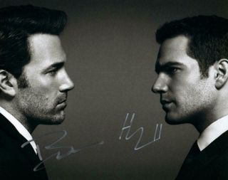 Henry Cavil Ben Affleck 8x10 Autographed Signed Photo Picture And