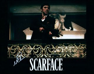 Al Pacino Scarface Signed 8x10 Picture Photo Autographed With