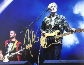 Johnny Stevens Hand Signed 8x10 Photo Highly Suspect Lead Singer Authentic Rare