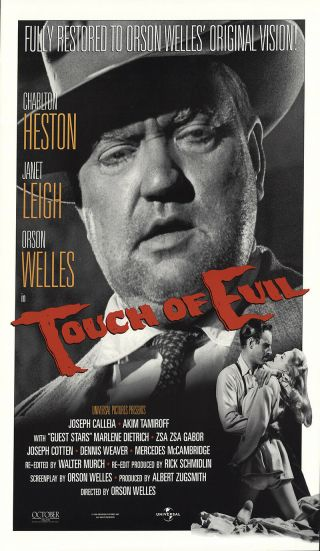 Touch Of Evil 1998 27x41 Orig Movie Poster Fff - 52634 Rolled Fine,  Very Good