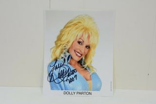 Dolly Parton Signed Autograph 8x10 Photo -