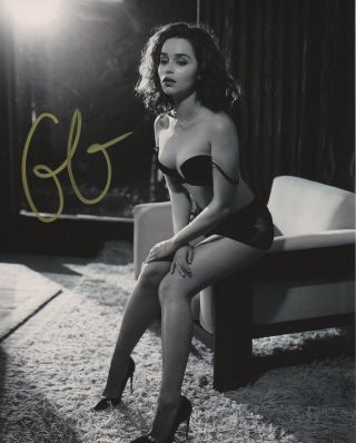 Emilia Clarke Game Of Thrones Signed Autographed 8x10 Photo E453