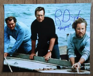 "Richard Dreyfuss "" Autographed Hand Signed "" 8x10 Photo - Jaws Hooper"