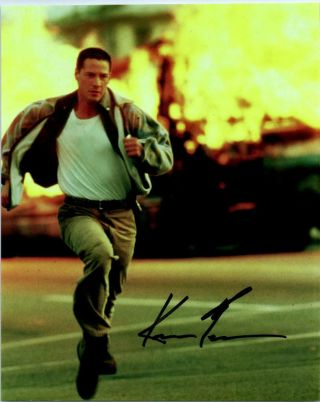 Keanu Reeves Speed Autographed 8x10 Photo Signed Picture Pic,