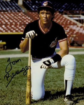 Tom Berenger Signed Autograph Platoon In Person 8x10 With Major League