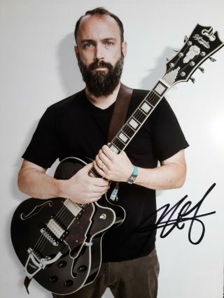 Neil Fallon Lead Singer Of Clutch Band Hand Signed 8x10 Autographed Photo W
