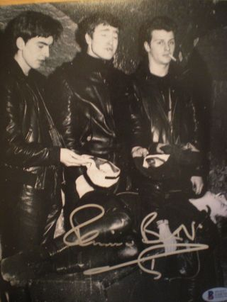 Terrific Hand Signed Photo Of Pete Best With The Beatles - The Fifth Beatle - Cert