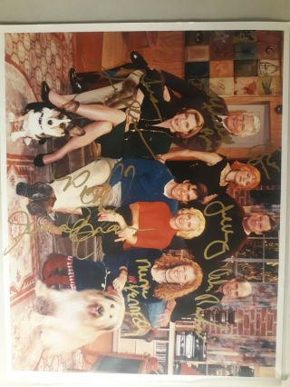 Darma &greg Signed Cast Photo By All 8