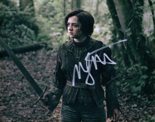 Maisie Williams Signed 8x10 Photo Picture Autographed