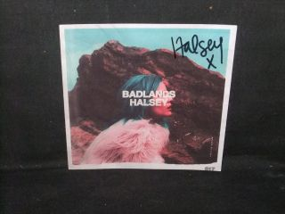 Halsey Badlands Signed Autograph Official Cd Booklet 100 Real