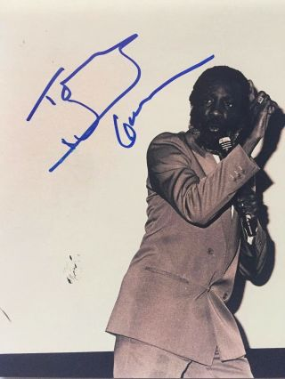 Dick Gregory Signed Autographed 8x10 Photo Civil Rights Activist Comedian B