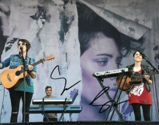 Tegan And Sara Quin Signed 8x10 Photo Exact Proof Autographed 3