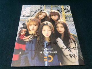 Bvndit Album Autograph All Member Signed Promo Album Kpop 12