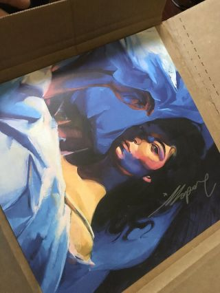 Lorde Signed Autographed 12x12 Lithograph Poster Melodrama