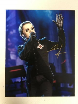 Ghost Bc Band Cardinal Copia Autographed Signed Photo 2 With Signing Pic Proof