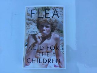 Fea Acid For The Children Red Hot Chili Peppers Sign Book