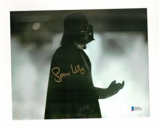 Spencer Wilding Star Wars Darth Vader Signed Authentic Autograph Photo Beckett