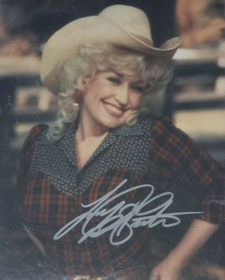Dolly Parton - Signed Autographed 8x10 Photo - Best Little Whore House - W/coa