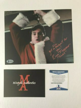 Eric Freeman Silent Night Deadly Night 2 Signed 8x10 Photo Beckett Horror