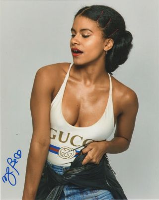 Zazie Beetz Joker Autographed Signed 8x10 Photo 2019 - 9