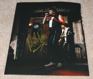 Mike Reno Loverboy Lead Singer Hand Signed Authentic Snl 8x10 Photo W/coa Proof