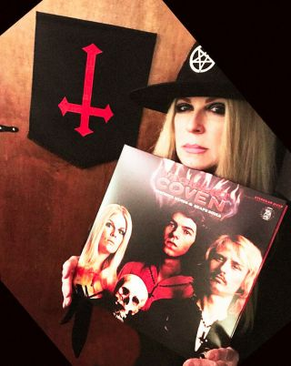 Coven Witchcraft Vinyl,  180 Gram,  2018 Reissue For 50th Yr,  Hand Signed By Jinx
