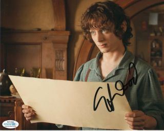 Elijah Wood Lord Of The Rings Autographed Signed 8x10 Photo Acoa