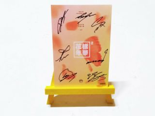 [ Bts ] In The Mood For Love Pt.  2 Red Authentic Signed Album Cd,