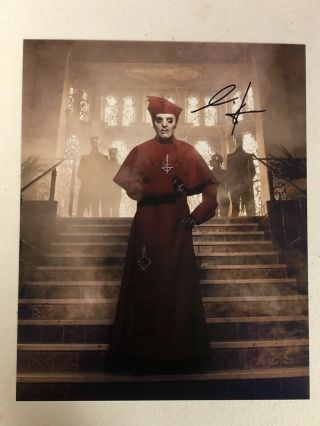Ghost Bc Band Cardinal Copia Autographed Signed Photo 1 With Signing Pic Proof