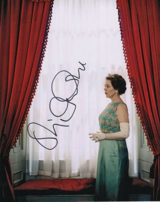 Olivia Colman The Crown Autographed Signed 8x10 Photo 2019 - 4