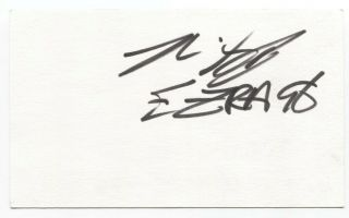 Better Than Ezra - Kevin Griffin Signed 3x5 Index Card Autographed Signature