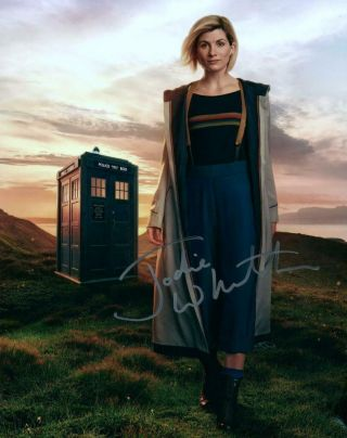 Jodie Whittaker 8x10 Autographed Photo Picture Signed Pic With